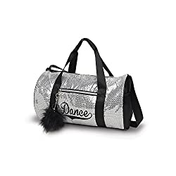 Sequin Duffel Dance Bag B452