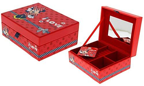 D&M I LOVE MINNIE Disney Minnie Mouse Jewellery Box