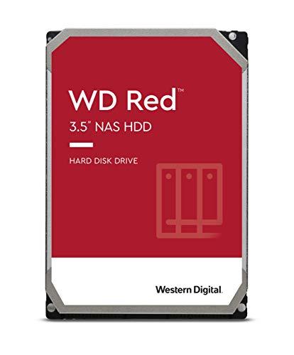 Western Digita WD Red interne Festplatte 3 TB (3,5 Zoll, NAS Festplatte, 5400U/min, SATA 6 Gbit/s, NASware-Technologie, für NAS-Systeme im Dauerbetrieb) rot