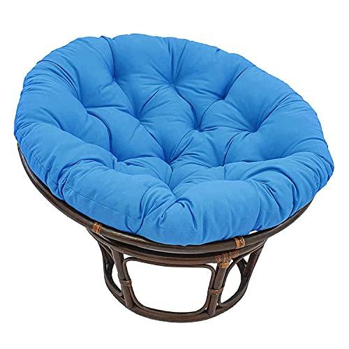 CIN&GO Cuscino Rotondo per Sedia Papasan Sedia Pigro per Divano Balcone Sedia per Lounge Tatami Sedia Luna Cuscino per Sedia Radar