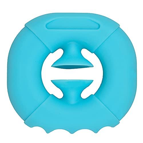 LULE Snappers Sensory Fidget Toy – Aprieta, agarrar, broche, partido Popper Fabricante de ruido, alivio del estrés Pops clic dedo juguete para añadir Adhd autismo niños (azul)