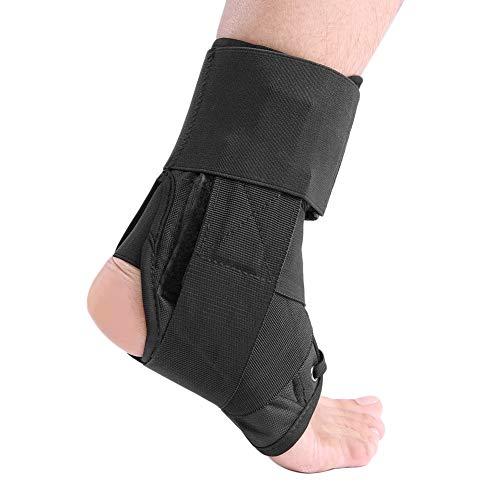 HaiQianXin Ortesis Transpirable Ortesis de Tobillo Soporte Protección Corrector Esguince Artritis Recuperación (Size : M)