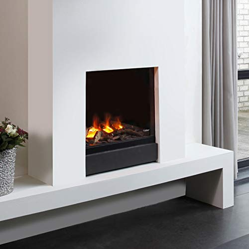 FABER Gala Interno Built-in Fireplace Nero