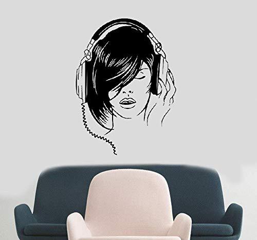 etiqueta de la pared decoración Music Stave Decals Musical Kids Room Sala de estar
