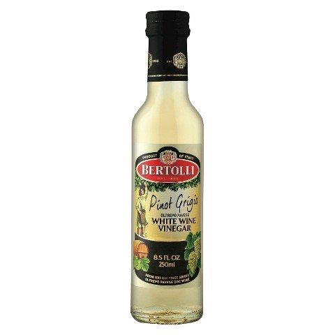 Bertolli Pinot Grigio White Wine Vinegar 8.5oz - Product of Italy - Single Bottle