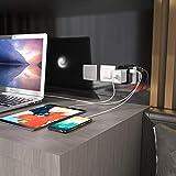 Lencent Reiseadapter/Reisestecker für 150+ Länder, Universal Adapter, UK England/USA/EU Deutschland/AUS Stecker mit 2 USB Steckdosenadapter Stromadapter Steckdose - 7