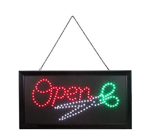 """neon-animiertes SSS Das Original d/ünnes Shop-Display zum Aufh/ängen f/ür den Innenbereich Hell blinkendes LED-Schild mit der Aufschrift /""""Pizza/"""" 54/cm x 31/cm x 2/cm"""