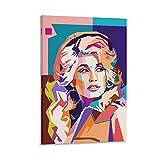 AOHOG Dolly Parton.webp Leinwand Kunst Poster und Wandkunst