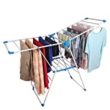 CLASSY 'N' COZY Cloth Drying Stand Folding and Collapsible Indoor and Outdoor Clothes