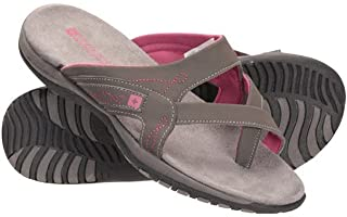 Mountain Warehouse Shoreline Womens Sandals - Breathable Ladies Shoes, Neoprene Lined Footwear, Microfibre Footbed - Best ...