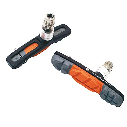 ASHIMA Paire portapattini Patins de frein Noir 72 mm lite Pair pad holders replacement skates lite black 72 mm