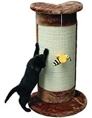 Kerbl - Tiragraffi da Angolo per Gatti, Altezza: 57cm, Colore: Marrone