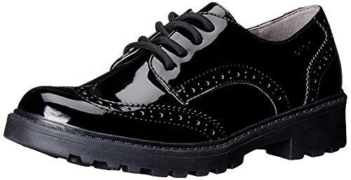Geox J Casey Girl N, Zapatos, Black, 41 EU