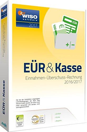 WISO EÜR & Kasse 2017: Einnahmen- Überschuss- Rechnung 2016/2017