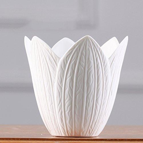 Eenvoudige witte keramiek vaas Home decoraties Wijnkast indoor woonkamer salontafel TV kast bureau Wedding Cadeaus