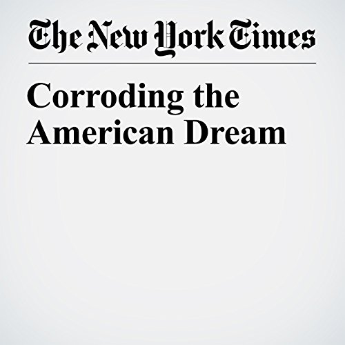 Corroding the American Dream copertina