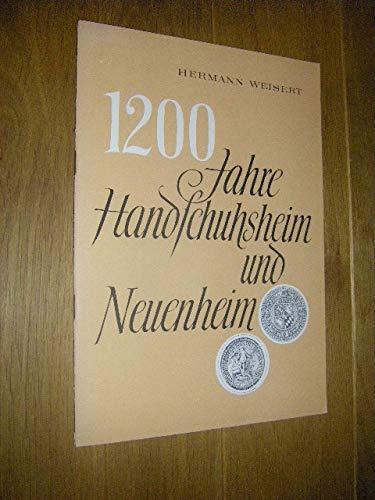 1200 Jahre Handschuhsheim und Neuenheim