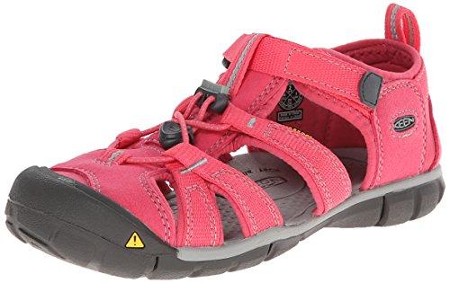 Keen Keen Unisex-Kinder Seacamp II CNX Sandalen, Pink (Honeysuckle/Neutral Gray), 37 EU