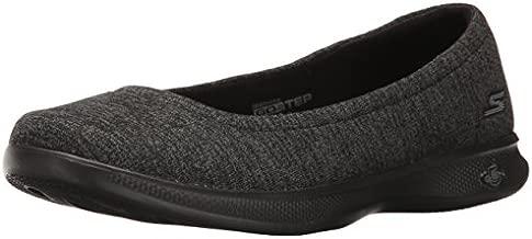 Skechers Performance Women's Go Step Lite-Evoke Walking Shoe,Black/Gray,6.5 M US