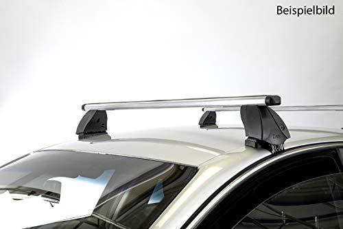 Dachträger K1 PRO Aluminium kompatibel mit Volvo V50 (5Türer) 08-12