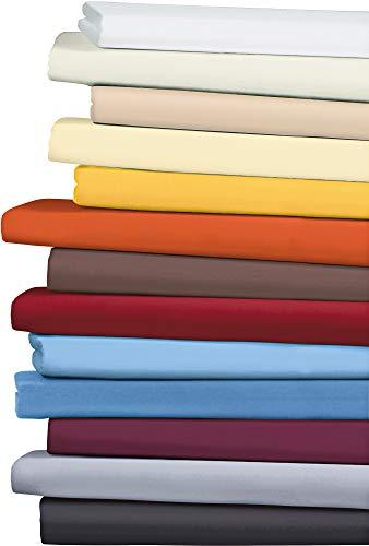 Erwin Müller Spannbettlaken, Spannbetttuch Memmingen Interlock-Jersey dunkelblau Größe 120x200-130x200 cm - formstabil, faltenfrei, anschmiegsam, mit Rundumgummi (weitere Farben,Größen)