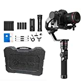 Feiyutech AK2000 3-Axis stabilized Handheld Gimbal Stabilizer with Extra Battery and Extension Rod for Panasonic GH5 GH5S Sony A7 Canon 5D DSLR Digital Camera,WiFi+Bluetooth,6lbs/2.8kg Payload