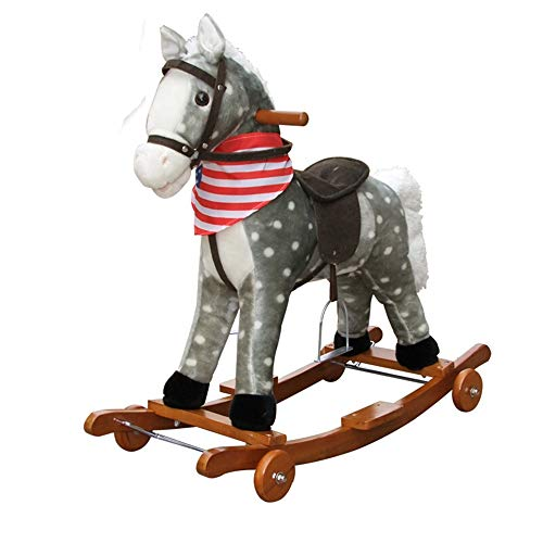 Affordable Baby Rocking Horse Child Music Rocking Horse Early Childhood Educational Rocking Horse fo...
