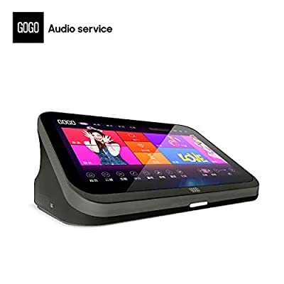 GOGO A1 KTV Karaoke Machine All in One Touch Screen Wifi Connection