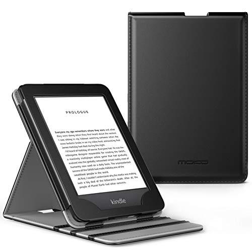 MoKo All-New Kindle (10th Generation, 2019) / Kindle (8th Generation, 2016) Custodia, Case Origami Verticale (Con Auto Sonno/Sveglia) - Nero