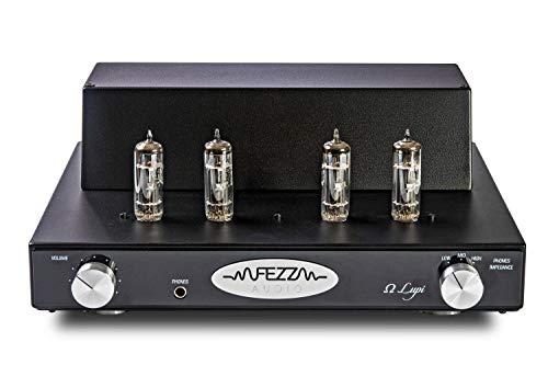 FEZZ Audio Omega Lupi Röhren-Kopfhörerverstärker mit 4X PCL86 (schwarz)