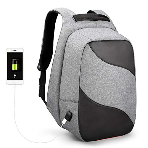 XM Zaino Per PC Portatili 15.6 Pollici Con Porta USB Moda Impermeabile Casual Outdoor Daypacks Bicycling/Escursionismo