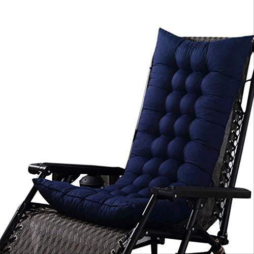 Vierkant tapijt voor schommelstoel, inklapbaar, dik, voor tuin, solarium. 40x110cm Blauw