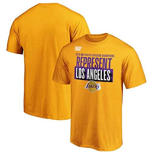 JMING Camiseta de entrenamiento de Lakers 2020, transpirable, ropa deportiva e informal, camiseta de competición (XL, T34)