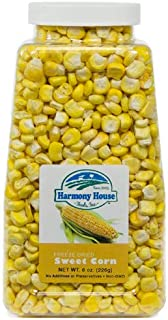 Harmony House Premium Sweet Corn Freeze-Dried - 100% Natural, Healthy Snack Foods