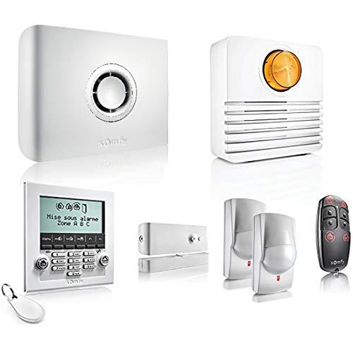 Somfy 2401427 - Protexiom Ultimate GSM   Alarme maison connectée haute sécurité   Sirène extérieure 108 dB   Auto-protégé   Radio bi-fréquence