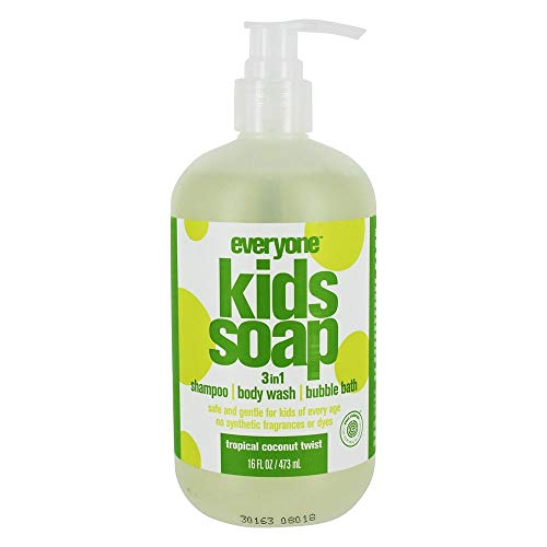 Everyone 3-in-1 Soap for Kids, Tropical Twist, 16 Ounce -  233618