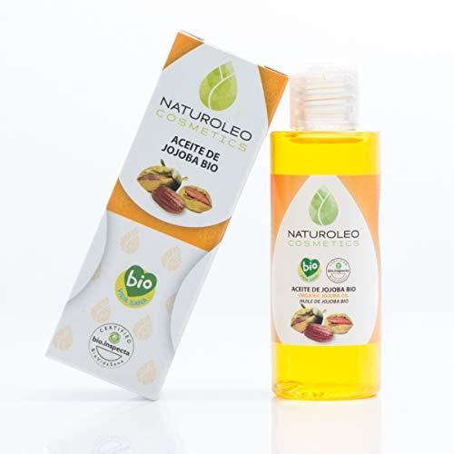 Naturoleo Cosmetics - Aceite Jojoba BIO - 100% Puro y