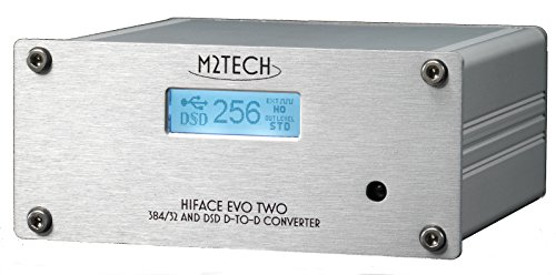 1) USB 2.0 AUDIO DI CLASSE interfaccia conforme. Il hiFace Evo due è nativamente supportato da OSX e Linux. Un driver di Windows è previsto che supporta ASIO. 2) basso rumore di fase, oscillatori ad alta precisione. Il hiFace Evo due sport due oscill...
