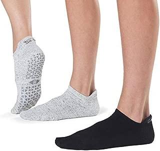 Grip Barre, Dance, Yoga Socks - Tavi Noir Women's Savvy Non-Slip Socks 2 pack