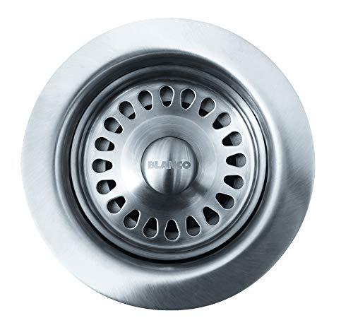 """BLANCO, Stainless Steel 441093 Kitchen Drain Basket Strainer, 3.5"""""""