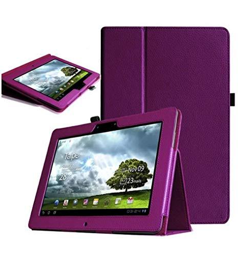 Für Asus Memo Pad Fhd 10 ME301T ME302 ME302C ME302KL 10,1-Zoll-Tablet-Lederhülle-Lila