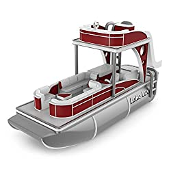 pontoon boat ornament with music