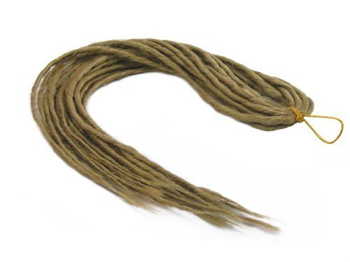 Elysee Star Dreads # 24 Natürliche Blonde Dreadlocks Double Ended Synthetic Dread