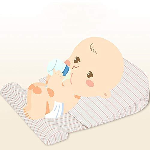 Wiegkussen voor babyhulp bij het verlichten van reflux Nasale congestie voeding -Anti-spugen Melk Slope Pad voeden matras(0-12 maanden)