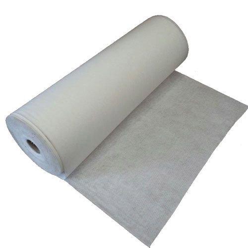 WUEFFE S.R.L. Geotessuto drenante Tessuto Non Tessuto Anti Erbacce Telo antiradice TNT pacciamatura (200 Grammi/mq, mt. 1x50 = 50 mq.)
