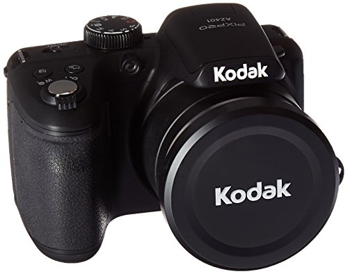Kodak PIXPRO Astro Zoom AZ401-BK 16MP Digital Camera with 40X Optical Zoom and 3' LCD (Black)