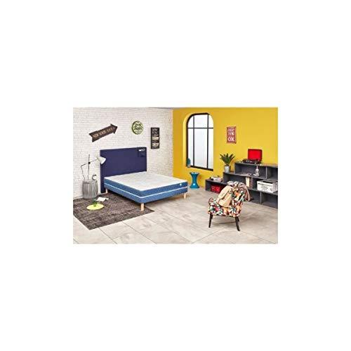 Ensemble Matelas mousse Merinos ONY Confort Ferme 18 cm 90x200