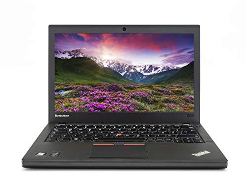 Lenovo ThinkPad X250 12,5 Zoll Full HD |Leistungsstarker Laptop| Intel Core i7-5.Gen 8 GB RAM 256 GB SSD GHz Win 10 Pro Tastatur DE | 1,42 kg schwatz (Generalüberholt)