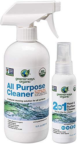 Greenerways Organic Natural USDA Organic All Purpose Cleaner...