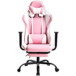 PC Gaming Chair Desk Chair Ergonomic Office Chair Executive High Back PU Leather